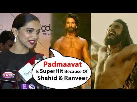 Deepika Padukone's Reaction On Ranveer Singh & Sha