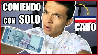 Hola, mi nombre es Emmanuel Castellón y en este video comeré las 3 comidas principales con sólo 3,50 dólares que en Costa...