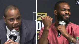 Daniel Cormier and Jon Jones trash talk on UFC 214 media conference call, passive aggressive.Please Like the video and Subscribe to the channel for more daily MMA content: http://www.youtube.com/user/Skip2MyMMA?sub_confirmation=1
