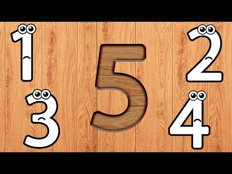 Wrong Wooden Slots with Crying Numbers 1 to 10 - Coloring for Kids & Toddlers