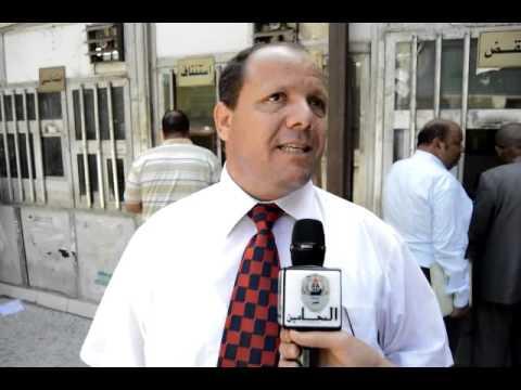احمد عباس يترشح نقيبا لمحامين مصر