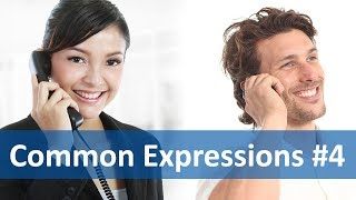 Common Expressions #4 (Telephoning) | English Listening&Speaking Practice