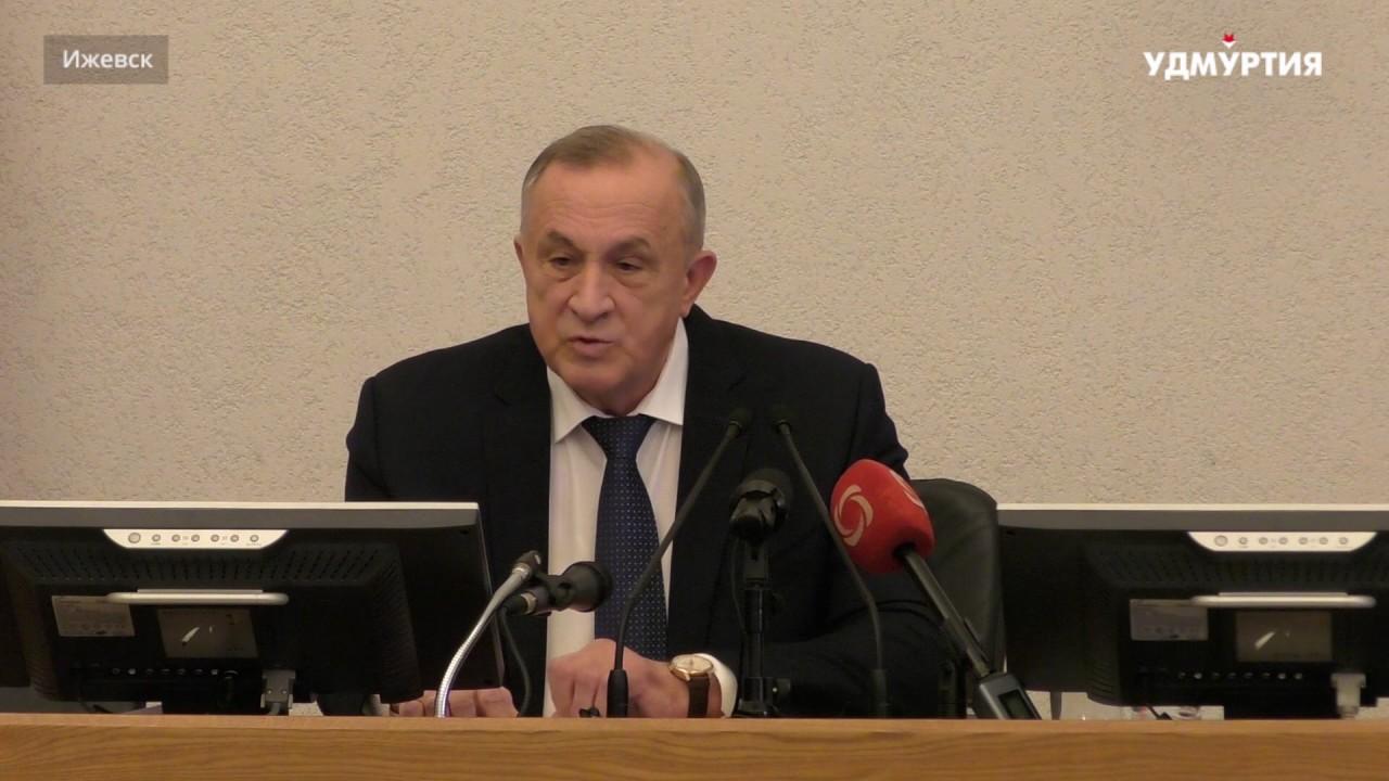 Глава Удмуртии Александр Соловьев о строительстве моста через Каму