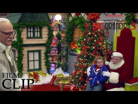 Jackass Presents: Bad Grandpa .5 Clip 6 'Santa Clause'