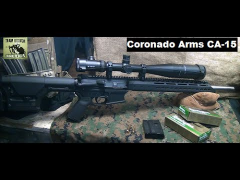 rifle - Fun Gun Reviews Presents: The CA-15 Rifle From Coronado Arms in 6.8 SPC caliber, but 5.56 NATO is also available. This is a high quality AR-15 Rifle that has incredible features and a real...
