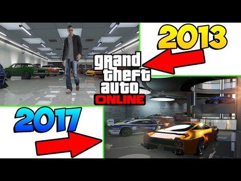 РАЗНИЦА МЕЖДУ GTA ONLINE 2013 И GTA ONLINE 2017 !!! (видео)
