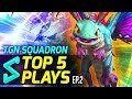 TGN Squadron's Top 5 Plays in Heroes of the Storm | Episode 2 | Heroes of the Storm Gameplay