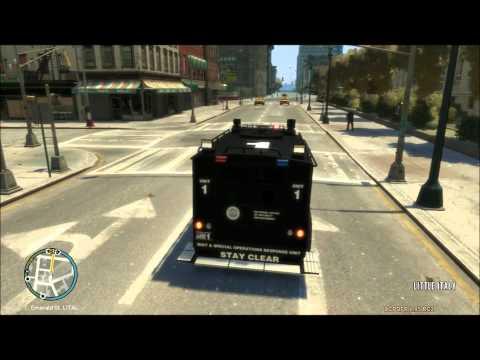 GTA IV LCPD:FR SWAT shootouts
