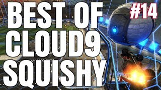 BEST OF C9 SQUISHY | INSANE AIR DRIBBLES, DOUBLE TAPS, FLIP RESETS, REDIRECTS AND MORE! | #14