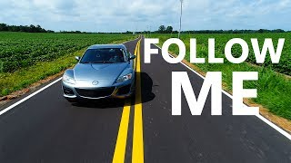 Ken plays with Follow Me mode on a Tennessee back-road. Enjoyed how this video sounded? Get the same gear Ken used ...