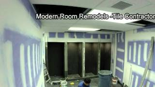 Reebok Crossfit GSP - Gym Locker Room Showers Tiling Time Lapse
