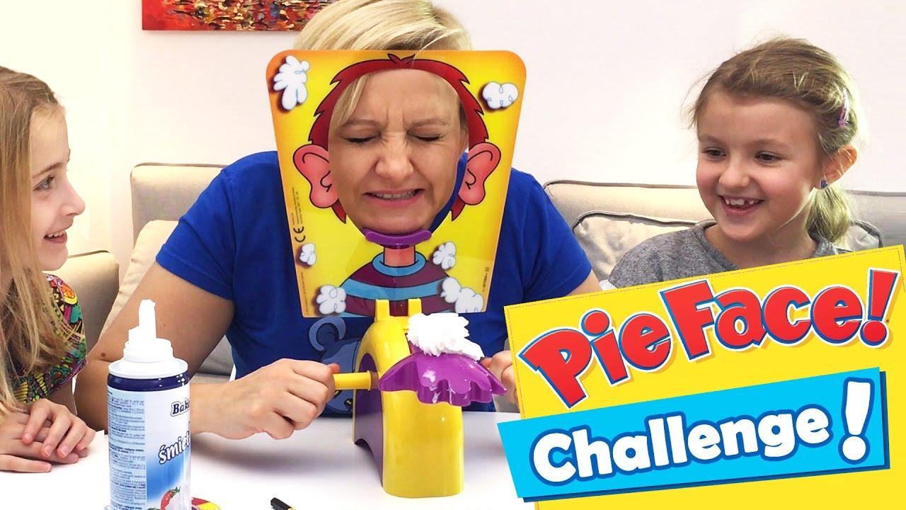 Pie Face !, Hasbro - Challenge