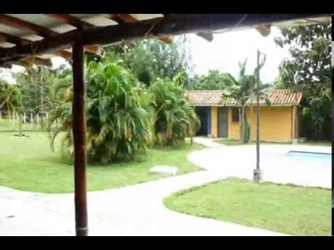 lam Venta de Casa de Campo en mini fincas Sta Isabel. видео