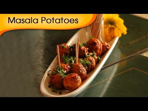 Masala Baby Potatoes | Party Starter For Thanksgiving | Recipe By Annuradha Toshniwal