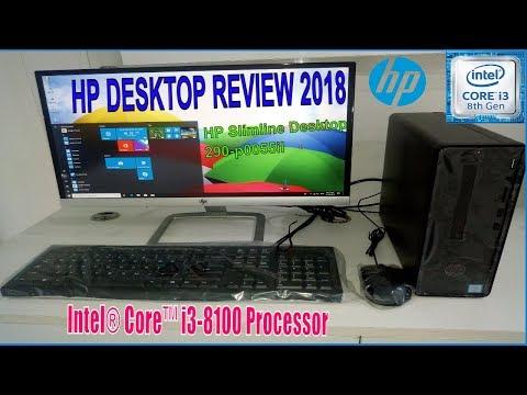Intel i3 8th generation desktop review HP 290-P055il.