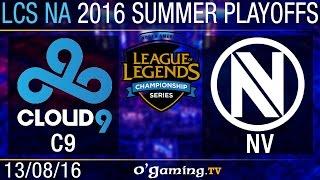 Quart de finale 1 - LCS NA Summer Split 2016 - Playoffs