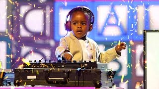 3 Year old DJ Archer Junior puts some of today's DJ's to shame...