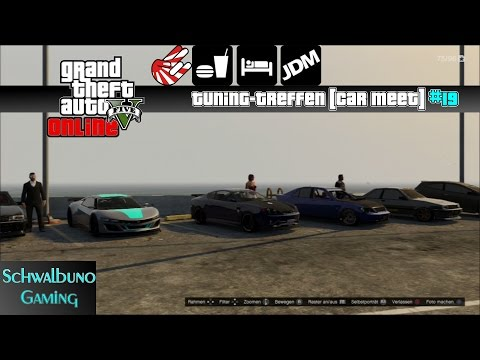 GTA 5 Online car meet / Tuning-Treffen #19 |JDM| (PS3)