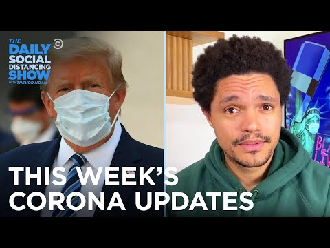 This Week's Coronavirus Updates - Week Of 10/5/2020 | The Daily Social Distancing Show