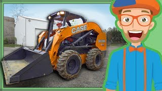 Blippi teaches children and toddlers about the Skid Steer construction truck. The Blippi Skid Steer video is like educational Blippi's excavator video. Learn the parts of the Skid Steer with Blippi and what its like while operating the construction truck with Blippi and listen to the Skid Steer Song. Watch more Blippi videos at https://youtube.com/Blippi?sub_confirmation=1 Watch the full Blippi youtube playlist at https://www.youtube.com/watch?v=Nb0yhRLcBG0&list=PLzgk_uTg08P-UbUdr1x0gPdC5tVAixw8_ Blippi Excavator Construction Truck for Kidshttps://www.youtube.com/watch?v=eiIzLd9ClPA