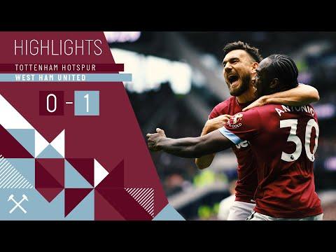 HIGHLIGHTS | TOTTENHAM HOTSPUR 0-1 WEST HAM UNITED