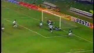 Todos os Gols e os dois últimos pênaltis que classificaram o Palmeiras à final da libertadores do ano 2000, com destaque do...