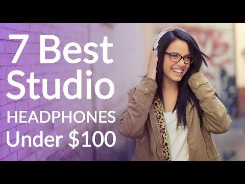 Best Studio Headphones Under 100 Dollars - Top 7 O