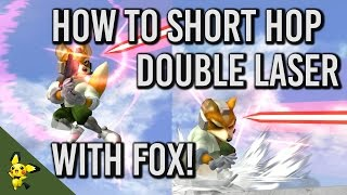 How to Short Hop Double Laser – SSBM Tutorials (x-post r/SSBM)