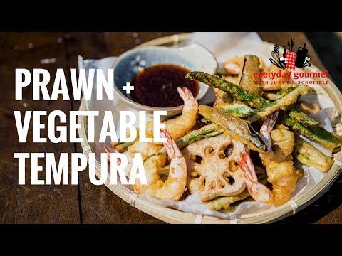 Prawn and Vegetable Tempura | Everyday Gourmet S7 E33