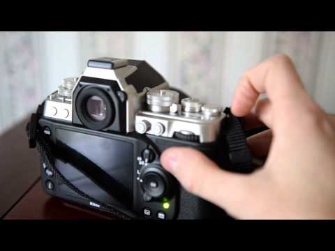 Nikon Df quick review and example of live view function