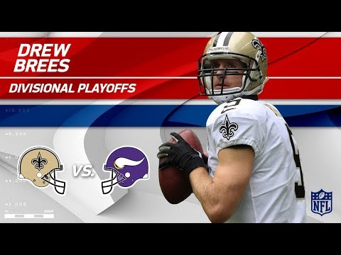 Video: Drew Brees' Gritty Performance w/ 3 TDs! | Saints vs. Vikings | Divisional Round Player HLs