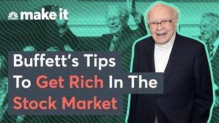Billionaire Warren Buffett: Top Tips For Investing In The Stock Market