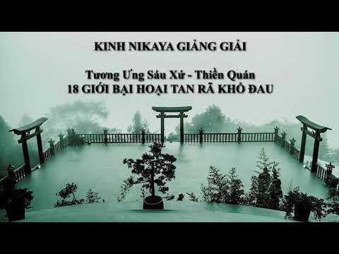 Kinh NIKAYA Giảng Giải - Tương Ưng Sáu Xứ - Thiền Quán - 18 Giới Bại Hoại Tan Rã Khổ Đau