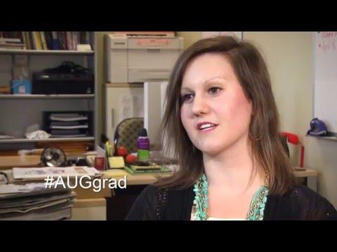 Sarah Carter - #AUGgrad