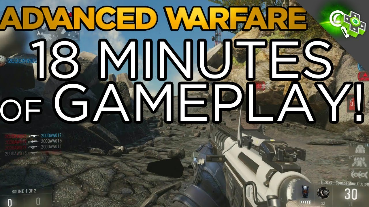 [Call of Duty: Advanced Warfare] 18 Minutes of Gameplay