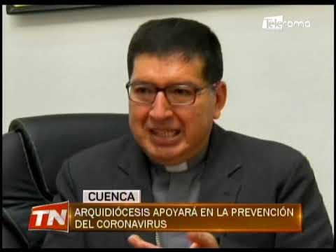 Arquidiócesis apoyará en la prevención del coronavirus