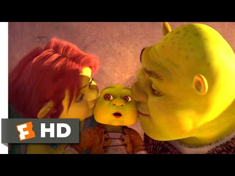 Shrek Forever After (2010) - Daddy Ever After Scene (2/10) | Movieclips