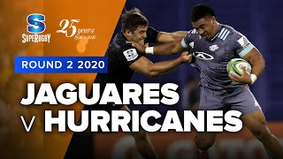 Jaguares v Hurricanes Rd.2 2020 Super rugby video highlights | Super Rugby Video Highlights