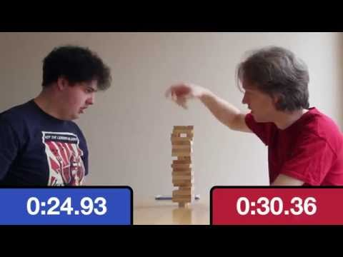 Jenga with a chess clock - [2:28]