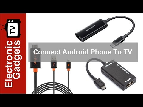 Simple Ways to Connect Your Android Phone to Your TV