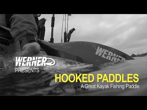 Hooked Kayak Fishing Paddles