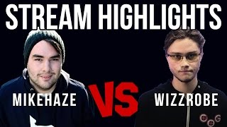Mike Haze Vs Wizzrobe Stream Highlights