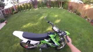 7. 2001 kx100 walk around (for sale)