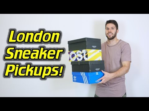 Sneaker Pickups from My Trip to London!