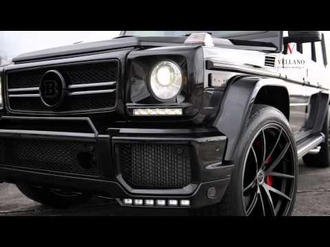 Тюнинг Mercedes Benz G63 AMG от Brabus и Vellano Wheels