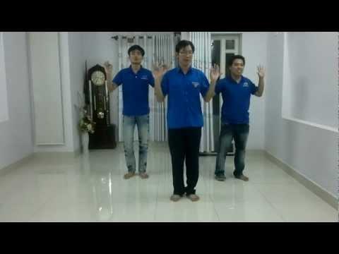 Hướng dẫn nhảy dân vũ bài chú ếch con