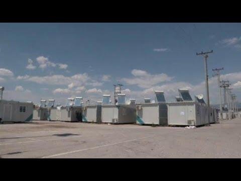 Η ζωή των προσφύγων στον Σκαραμαγκά