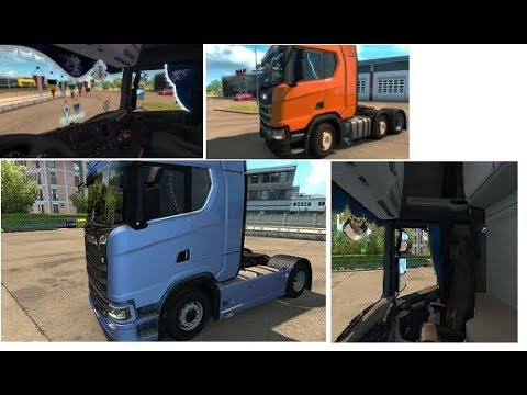 Animated Side Curtains for Scania Next Gen Update v1.1