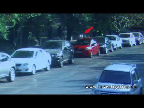 Վնասել են կայանված ավտոմեքենայի դռան ապակին (տեսանյութ)