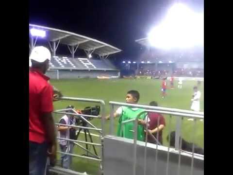 Wanchope se da de golpes tras juego entre CR y Panamá